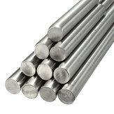 125-500मिमीव्यास4मिमीस्टेनलेस स्टील गोल ट्यूब ठोस धातु बार रॉड