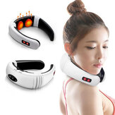 Hot Electric Cervical Neck Support Massager Body Shoulder Relax Massage Magnetisk Terapi