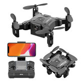 4DRC V2 Mini 3 WiFi FPV s 720P HD Fotoaparát Altitude Hold Mode Foldable Nano Pocket RC Drone Quadcopter RTF