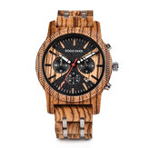 DODO DEER C08 Fashion Wooden Men Quartz Watch