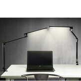 56 LED Drafting Table Lamp Swing Arm Task Lamp with Clamp Eye-care Dimmable Office Light Touch Control