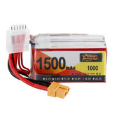 ZOP Power 18.5V 1500mAh 100C 5S Lipo Batteria XT60 Plug per RC Racing Drone