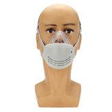 Respiratore anti-nebbia Maschera Bocca PM2.5 Respiratore anti-nebbia con filtro elettrostatico KN95