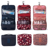 Travel Cosmetic Storage MakeUp Bag Folding Hanging Wash Organizer Pouch Toiletry
