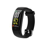 Bakeey F64C Renkli Ekran IP68 Kalp Rate Information Hava Durumu Fitnes Tracker Smart Watch Band