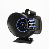DO916 Carro OBD Guage Head Up Display Digital Dash Boost Água Temp Voltage Gauge Odômetro Tacômetro MAP Ferramenta de Diagnóstico
