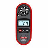 WT816A Windsnelheidmeter IP67 Waterdicht met achtergrondverlichting Display Temperatuurmeting Zes eenheden luchtsnelheid M / s Km / h ft / min Knopen mph bft