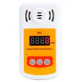 KXL-601 Sesli ve Işıklı Alarmlı Mini Karbon Monoksit Dedektör Metre CO Gaz Kaçak Dedektörü Metresi