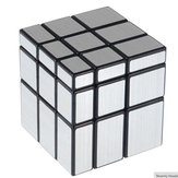 3x3x3 57mm Wire Draw Style Mirror Magic Cube Utmaning Presenter Cubes Educational Toy