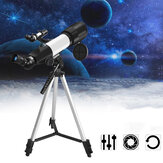 Professional 14X-117X Astronomical Telescope 350m Focal Length 360° Rotation Monocular Students Children's Scientific Experiment