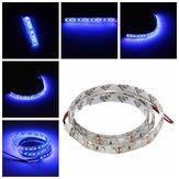 UV Ultraviolet Paars 3528 LED Flexibele Strip Lamp Wit Licht 12V Waterproof