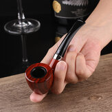 Sanda SD726 1 Set Smokin Pipe Small Durable Smokin Cigarettte Pipe TobaCcco Cigaar Pipes Gift box And Accessories Tools