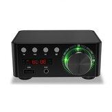 HiFi Mini Dijital Amplifikatör bluetooth 5.0 Amplifikatör RCA Stereo Ses TF Kart U Disk AUX Kayıpsız Ses Güçlü Dijital Amplifikatör TV Bilgisayar için