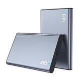 DM 2.5 '' SATA إلى USB 3.0 HDD الضميمة خارجي غلاف القرص الصلب SSD حافظة محمولة للقرص الصلب