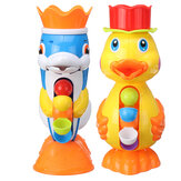 Children Bath Toys Bath Tub Beach Splashing Water Duck Dolphin Toys