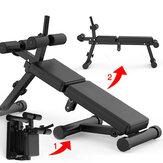 Panca pieghevole per sedersi Miking Panca per muscoli addominali Panca multifunzione con manubri 5 Regolabile in altezza Idoneità Gym Esercizio a casa