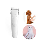 Pawbby Pets USB Rechargable Hair Trimmers Professional Dog / Cat Pet Grooming Electrical Pets Clipper Pets Shaver from Xiaomi Youpin