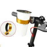 直径77mmカップホルダーユニバーサルアルミ合金自転車用ウォーターボトルホルダー72g自転車用ウォーカー車椅子トロリー用軽量ドリンクホルダー