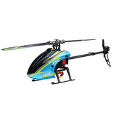 Everyine E160 V2 6CH Dual Brushless 3D6G System Flybarless RC Helicopter BNF متوافق مع FUTABA 'S-FHSS