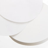 100Pcs/Set 7/9/11/12.5/15/18cm Quantitative Filter Paper Ashless Circular Funnel Filter Sheet Slow Speed 10-15um