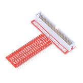 5db 40Pin T típusú GPIO adapter bővítőkártya a Raspberry Pi 3/2 modellhez B / B   / A   / Zero
