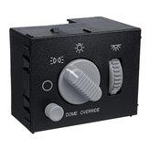Faro y Dome interruptor de atenuación de luz 15738843 para Chevy GMC Sierra Silverado Yukon 1999-2002