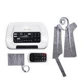 Massageador de pressão de circulação de 8 câmaras de ar perna braço cintura manguito Controle Remoto