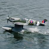 Dynam Supermarine Spitfire MK.VB 1200mm Spannweite EPO Wasserflugzeug RC Flugzeug PNP Mit Klappen