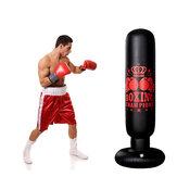 1.6M Free Standing Inflatable Boxing Punch Bag Boxing Kick Training Home Gym Fitness Tools For Adults Kids