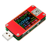 UT25 Digital USB 2.0 Micro USB Type-C Tester 1.44 Inch Color LCD Voltmeter Ammeter Voltage Current Meter Suppport QC2.0 QC3.0