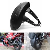 Universal Motor Rear Wheel Cover Splash Guard Mudguard + Bracket Black