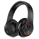 Bakeey B39 Lichtgevende bluetooth 5.0-headset Op het hoofd gemonteerde draadloze hoofdtelefoon Zware bas Surround Stereo Colorful LED-verlichting Buitensport