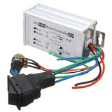تيار منتظم 12V 24V 36V 48V SoftStart Reversible Motor PWM Speed ​​مراقبة PWM مراقبةler