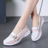 Ballerine casual da donna antiscivolo Holow Walking Walking