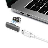 Adaptador USB C magnético 20Pins Type C Conector PD 100W Carga rápida 10Gbp / s