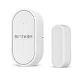 BlitzWolf®BW-IS6 433 MHz Mini Kol Silahsızlandırılması Gerçek zamanlı Alarm Itin APP Kontrol Kapı Pencere İletişim Sensör Akıllı Ev Alarm Sistemi için