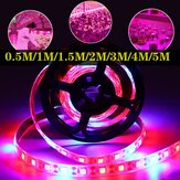 0,5 M / 1M / 1,5 M / 2 M / 3M/4 M / 5 M USB Wasserdicht 5050 LED Grow Strip Light Hydroponic Vollspektrum-Zimmerpflanzenlampe