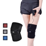 Knee Heating Pads Brace Support Pads Thermal Heat Therapy Wrap Knee Massager for Cramps Arthritis Pain Relief Health Care