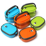 Vacuüm Seal Stacking Isolated Lunch Box Stainless Steel Thermische Isolatie Bento Box Dual Handle Container