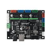 Makerbase DLC V2.0 A4988 GRBL Tablero de control fuera de línea Láser Tablero de control de la máquina de grabado CNC UNO R3 Expansión Placa