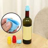 Reusable Vin Rouge Cover Bottle Cap Silicone Stopper Beverage for Home Bar Stopper Cover Barware Accessories