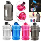 2.2L PETG Plastik Terbuka Olahraga Kapasitas Tinggi Botol Air Dengan Pegangan Air BPA Gratis Untuk Camping Menjalankan Bersepeda