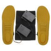 電気暖房インソール冬の靴のインソールヒーター足ウォーマーパッドウォーミングセット