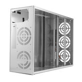Crypto Coin Open Air Mining Miner Frame Rig Graphics Case For 6-8 GPU ETH BTC Ethereum