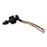 JJRC M02 RC Air Spare Parts M02-008 / M02-009 / M02-010 7.4V 1307 CW / CCW 2300KV Front Brushless Motor 2000KV CCW Rear Brushless Motor