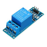 1 Channel 5V Relay Module with Optocoupler Isolation Relay Single-chip Extended Plate High Level Trigger
