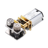 Machifit GM12YN20-3DP DC12V 11RPM Right Angle Output Metal Gearbox Micro Gear Motor for 3D Pen