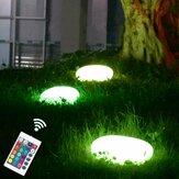 Outdoor Solar Powered LED Stone Garden Lights Gramado À Prova D 'Água Seixos decorativos