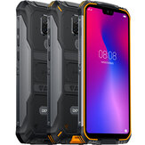 DOOGEE S68 Pro Global Version 5,9 tommer FHD + IP68 Vandtæt 6300mAh NFC 21MP Triple Bagkamera 6GB 128 GB Helio P70 4G Smartphone