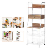 5-Tier Kitchen Standing Rack Microwave Oven Stand Shelf Storage for Home Kitchen Storage Rack